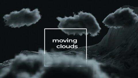 20 Moving Volumetric Clouds for Blender
