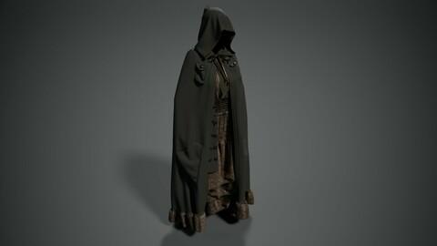 Cloak with pockets