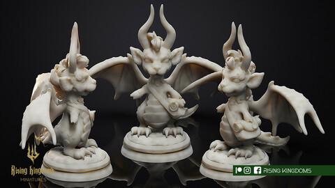 MINI CLAW DRAGON (STL FILE for 3D printing)