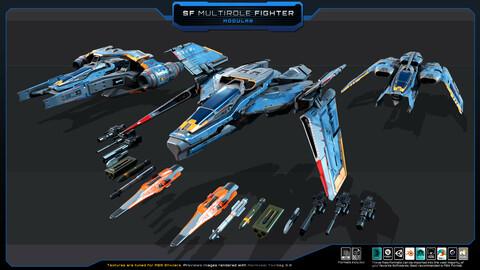 SF Multirole Fighter  MODULAR