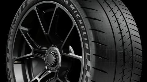 Michelin Pilot Sport CUP 2 R (Real World Details) 325/30 R21 108Y REAR