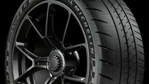 Michelin Pilot Sport CUP 2 R (Real World Details) 265/35 ZR20 99Y FRONT