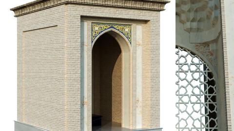old seljukian style tomb set 141