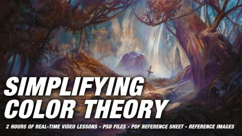 """Simplifying Color Theory - """"Color Chat"""" Vol. 1"""