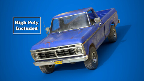 Ford F100 1976 Old Blue