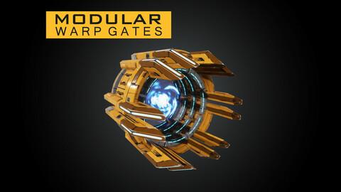 Modular Warp Gates