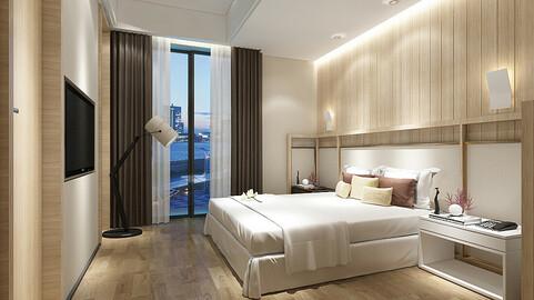 bedroom hotel suites designed a complete 97