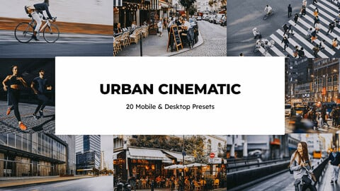 20 Urban Cinematic LUTs and Lightroom Presets