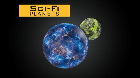 Sci-Fi Planets and Asteroids