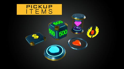 Modular Pick Up Items