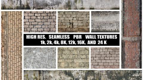 BipsVFX's Hi-Res. PBR Wall Textures