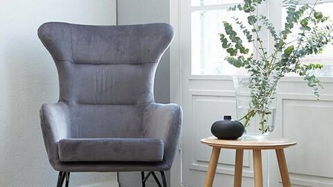 Cafe Suede Sofa