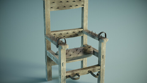 Medieval Spiked Torture Chair