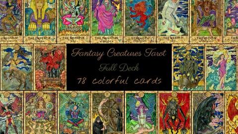 Fantasy World Tarot deck
