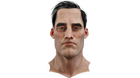 Jason Realistic model of male head