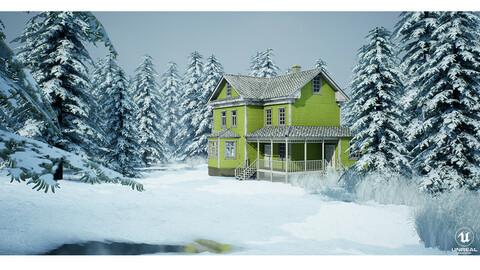 Winter Days - UE4
