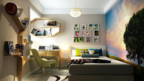 Deluxe master bedroom design  13