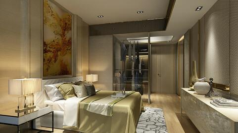 Deluxe master bedroom design  18