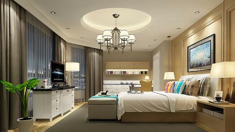 Deluxe master bedroom design  24