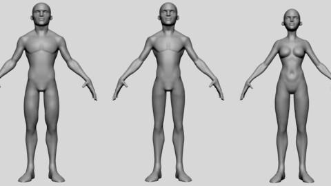 Base Stylized Models