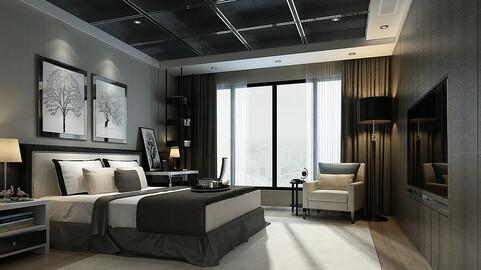 Deluxe master bedroom design  28