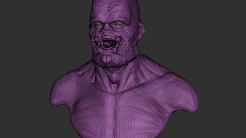 3d model demon
