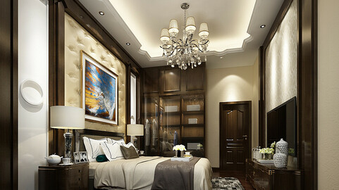 Deluxe master bedroom design  57