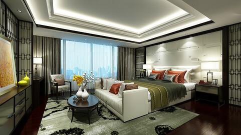 Deluxe master bedroom design  58