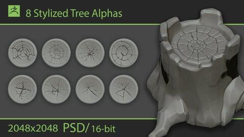 Stylized Tree Alphas