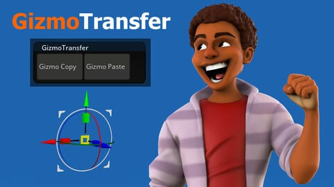 GizmoTransfer - Copy and Paste the Gizmo between Zbrush Subtools!
