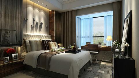 Deluxe master bedroom design  67