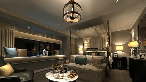 Deluxe master bedroom design  69
