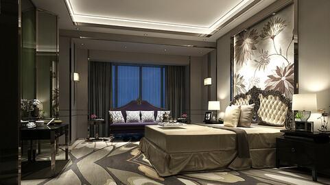 Deluxe master bedroom design  73