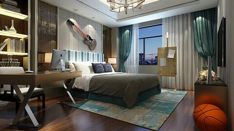 Deluxe master bedroom design  75