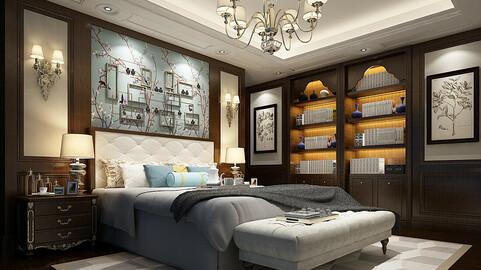 Deluxe master bedroom design  78