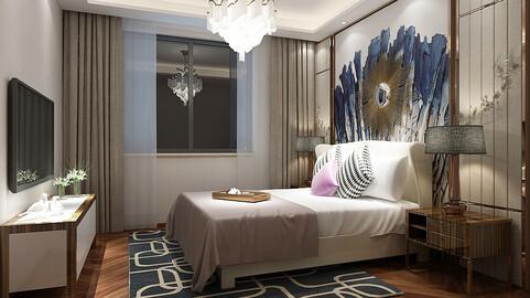 Deluxe master bedroom design  81