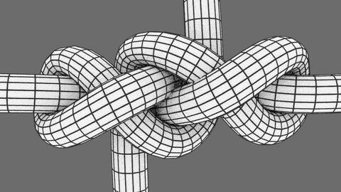 symmetrical hawser bend #2 knot