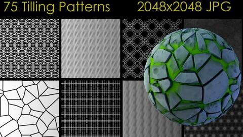 75 Tilleable patterns