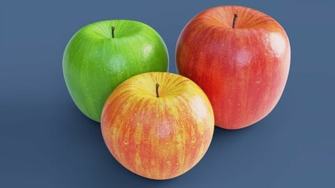 Photorealistic Apples