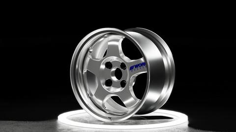 Work Meister s1 2 piece wheel