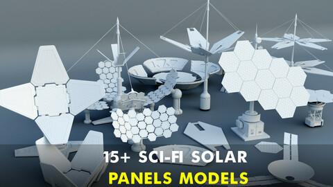 15+  Sci-Fi Solar panels pieces