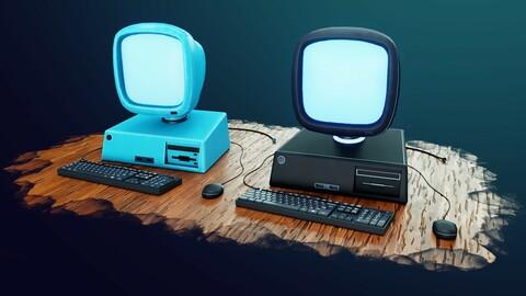 Stylized Computer