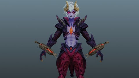 Monster woman character