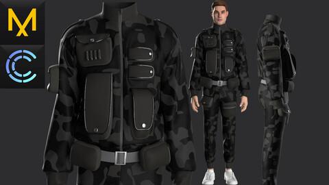 New concept Marvelous Clo3D Male Outfit