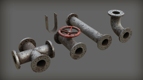 Rusty Modular Pipes
