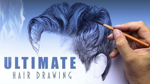 How to draw hair and hair styles BETTER than anyone else