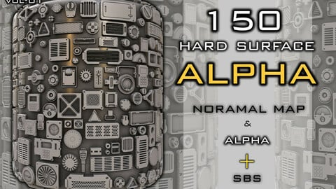 hard surface alpha pack
