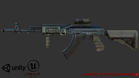 AK47 Sopmod Assault Rifle