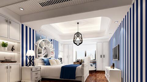 Deluxe master bedroom design  164