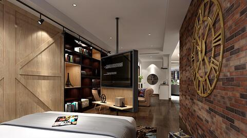 Deluxe master bedroom design  169